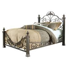 Metal Bed Headboard And Footboard Queen Headboard Metal Queen Size Baroque Style Metal Bed With