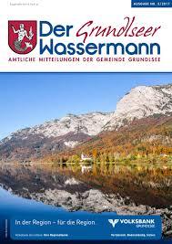 G Stige K Hen L Form Der Grundlseer Wassermann Herbst 2017 By Gemeinde Grundlsee Issuu