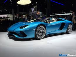 lamborghini aventador s roadster launched priced at rs 5 79
