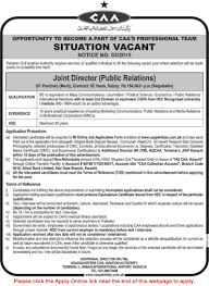 journalists jobs in pakistan airlines international joint director public relations jobs in pakistan civil aviation