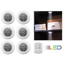 puck lights with remote 6 pack liger wireless led puck lights with remote control daily