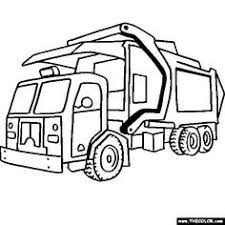 dump truck coloring pages bestofcoloring com