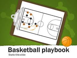 basketball playbook a powerpoint template from presentermedia com