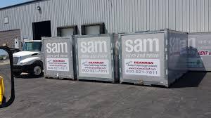 portable storage containers 16 u0027x8 u0027x8 u0027 dearman moving