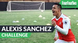 alexis sanchez snapchat the alexis sanchez challenge soccer training drill youtube