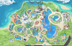 Orlando On Map by Theme Park U0026 Attractions Map Seaworld Orlando