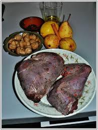 cuisiner le lievre cuisses de lievre marinees aux poires la table de meline