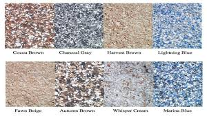 decorative garage floor color charts tampa sarasota pinellas pasco