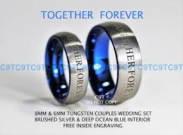dr who wedding ring doctor who inspired 6mm 8mm tungsten wedding ring set doctor