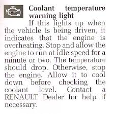 Coolant Light Mysterious Warning Light Cliosport Net