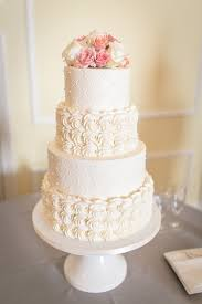buttercream rosettes u0026 quilted tiers with fresh florals at the