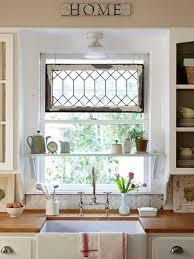 ideas for kitchen window treatments kitchen sink window treatments fromgentogen us