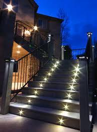 led stair lights indoor u0026 outdoor recessed leds by dekor lighting