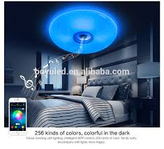 Wireless Ceiling Light Fixtures 36w Home Music Wireless Ceiling Lights Led Bluetooth Down Light