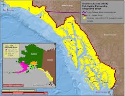 Map Of Southeast Alaska by Southeast Alaska A Special Place Southeast Alaska Fish Habitat