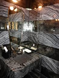 Powder Room Santa Rosa Kelly Wearstler Bathroom The Marble U0026 Mirror Stripe What