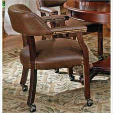 game table chairs with casters all chairs design
