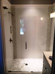 Seamless Glass Shower Door Frameless Glass Shower Doors Enclosures