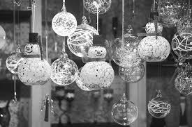 black and white glass ornaments pictures photos and images for