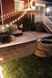 Concrete Patio With Pavers Backyard Concrete Patio Designs Layouts How To Build A Patio