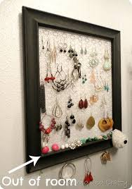 earring holder for studs and crafty stud earring holder tutorial