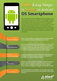 update android os steps to upgrade an version android os into new version