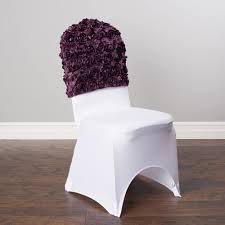rosette chair covers banquet chair caps covers chair covers ideas