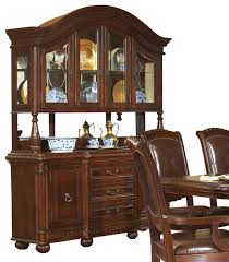 steve silver antoinette buffet with hutch in rich cherry