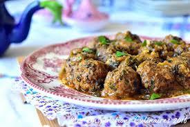 cuisiner boulette de viande tajine de boulettes viande hachée épinards le cuisine de samar