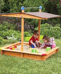 sand box with shade add sunblock and it u0027s on summertimeplay