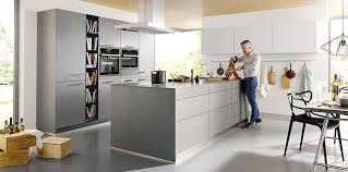 german kitchen furniture schuller elba k024 concrete grey german kitchen schuller