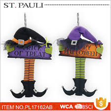 felt witch sign wall ornament supplies wholesale