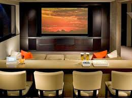 Top  Best Small Home Theaters Ideas On Pinterest Small Media - Living room with home theater design