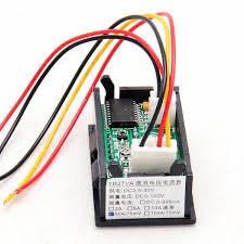 wiring a three wire digital voltmeter ammeter