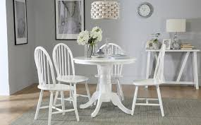 Windsor Chair Slipcovers Dining Room Outstanding Milton Square White Table And 4 Windsor