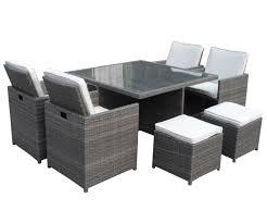 Grey Rattan Outdoor Furniture by Rattan Sofa Cube Set Cover Centerfieldbar Com