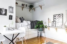 creer une chambre créer une chambre dans un studio trucs astuces déco