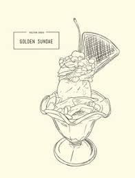 ice cream sketch royalty free stock image storyblocks