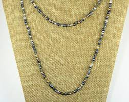bead necklace long images Long beaded necklace etsy jpg