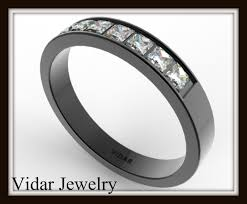 unique women s wedding bands black gold diamond wedding band vidar jewelry unique custom