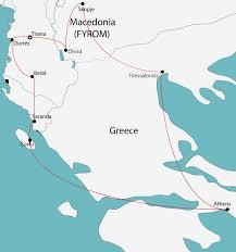 Thessaloniki Greece Map by Discover Albania Macedonia U0026 Greece U2022 Sondor Travel