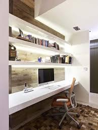 Modern Floating Desk 27 Awesome Floating Desks For Your Home Office Orange Design
