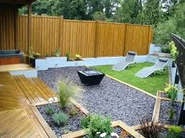Deck Garden Ideas Gardens With Decking Decking Sloping Garden Designs Kiepkiep Club