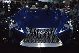 the view for lexus lf lc lexus lf lc and lf cc on display at the la auto show which one do