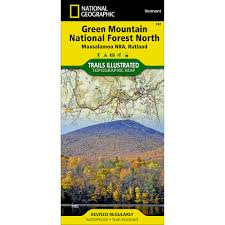 Vermont State Parks Map 747 Green Mountain National Forest North Moosalamoo National