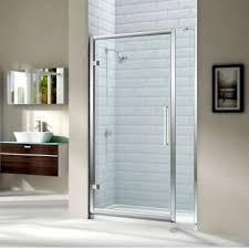 hinged shower doors with inline panels u0026 semi frameless designs