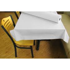 white paper rolls for tables 40 x 300 17 white embossed paper roll table cover table covers