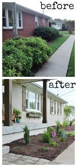 ranch remodel exterior home renovation ideas before and after home remodeling pictures