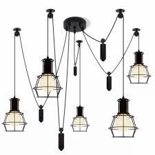 Pendant Light Cord Spider Pendant Light Led Spider Light Black Hanging L Cord
