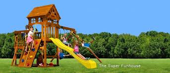 Backyard Playground Slides by Rainbow Swing Set Superstores Of Colorado Visit Colorado U0027s One
